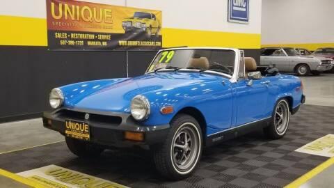 1979 MG Midget for sale at UNIQUE SPECIALTY & CLASSICS in Mankato MN