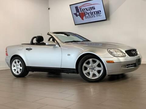 1998 Mercedes-Benz SLK for sale at Texas Prime Motors in Houston TX