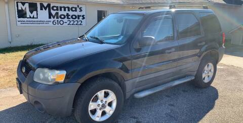 2007 Ford Escape for sale at Mama's Motors in Greer SC