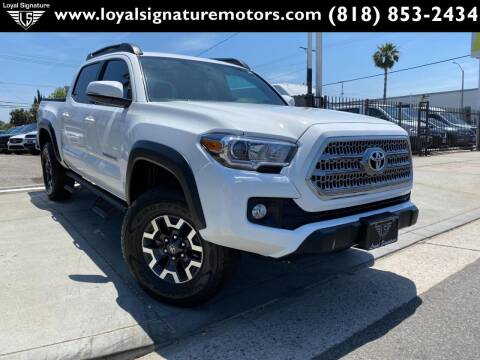 2016 Toyota Tacoma for sale at Loyal Signature Motors Inc. in Van Nuys CA