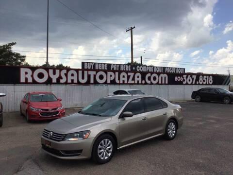 2015 Volkswagen Passat for sale at Roy's Auto Plaza 2 in Amarillo TX