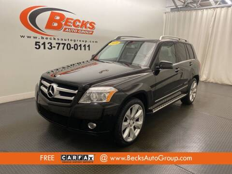 2010 Mercedes-Benz GLK for sale at Becks Auto Group in Mason OH