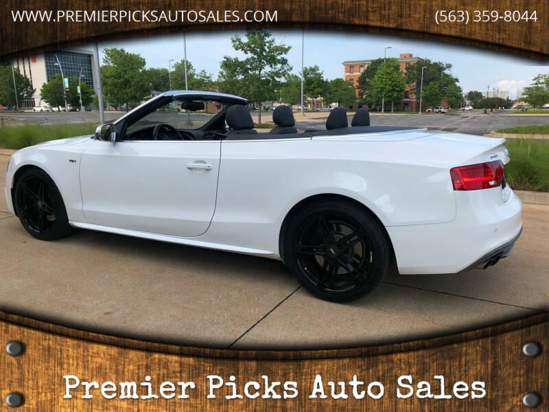 2014 Audi S5 for sale at Premier Picks Auto Sales in Bettendorf IA