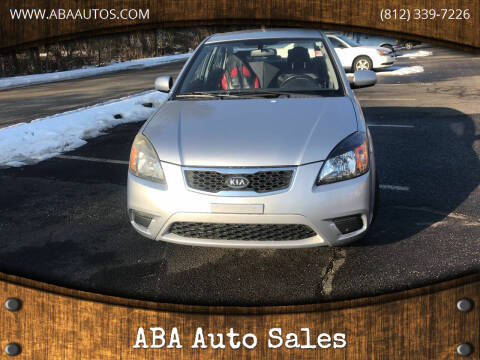 2010 Kia Rio for sale at ABA Auto Sales in Bloomington IN