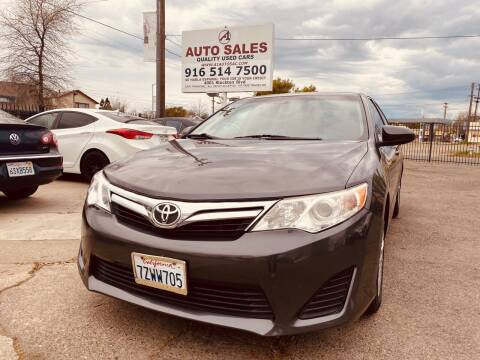 2012 Toyota Camry for sale at A1 Auto Sales in Sacramento CA