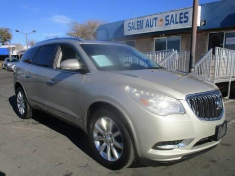2013 Buick Enclave for sale at Salem Auto Sales in Sacramento CA