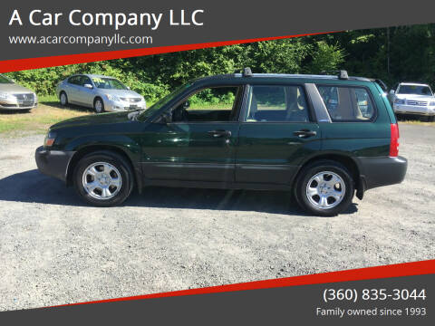 2004 Subaru Forester for sale at A Car Company LLC in Washougal WA