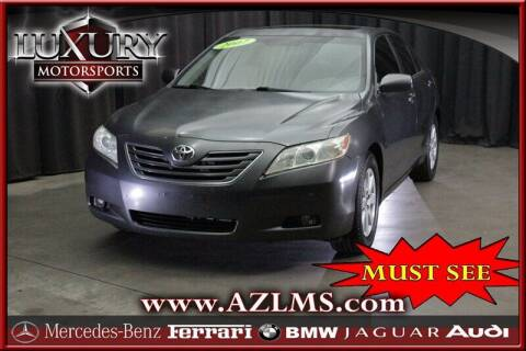 2007 Toyota Camry for sale at Luxury Motorsports in Phoenix AZ