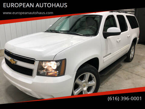2013 Chevrolet Suburban for sale at EUROPEAN AUTOHAUS in Holland MI