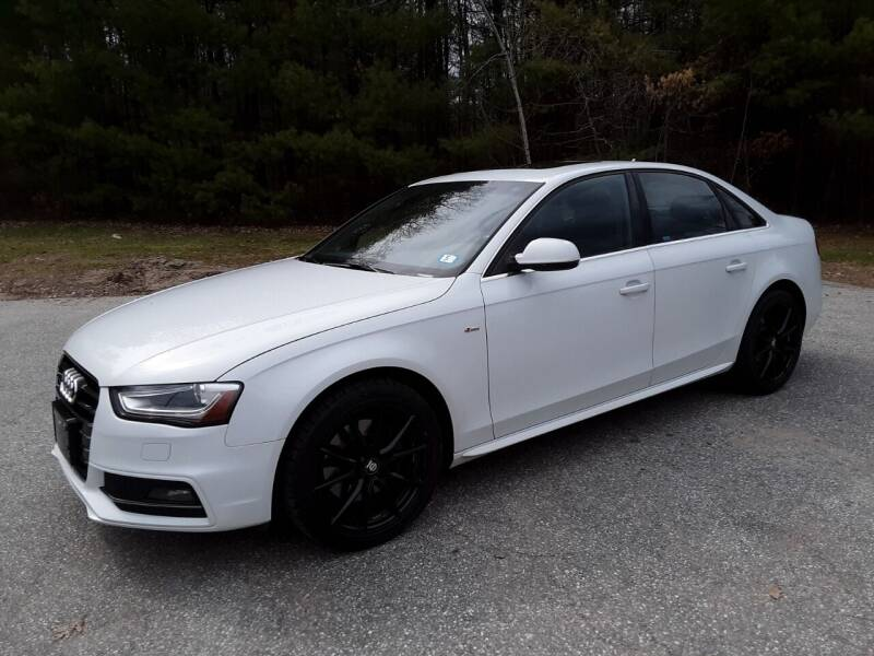 2014 Audi A4 for sale at H P M Sales in Goffstown NH