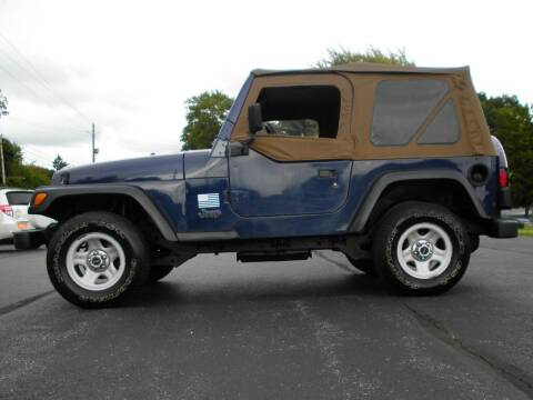 1997 Jeep Wrangler for sale at Auto Brite Auto Sales in Perry OH