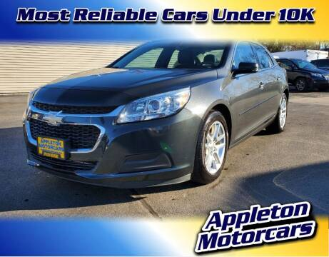 2014 Chevrolet Malibu for sale at Appleton Motorcars Sales & Service in Appleton WI