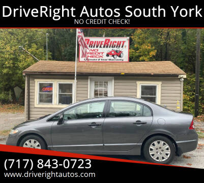 2010 Honda Civic for sale at DriveRight Autos South York in York PA