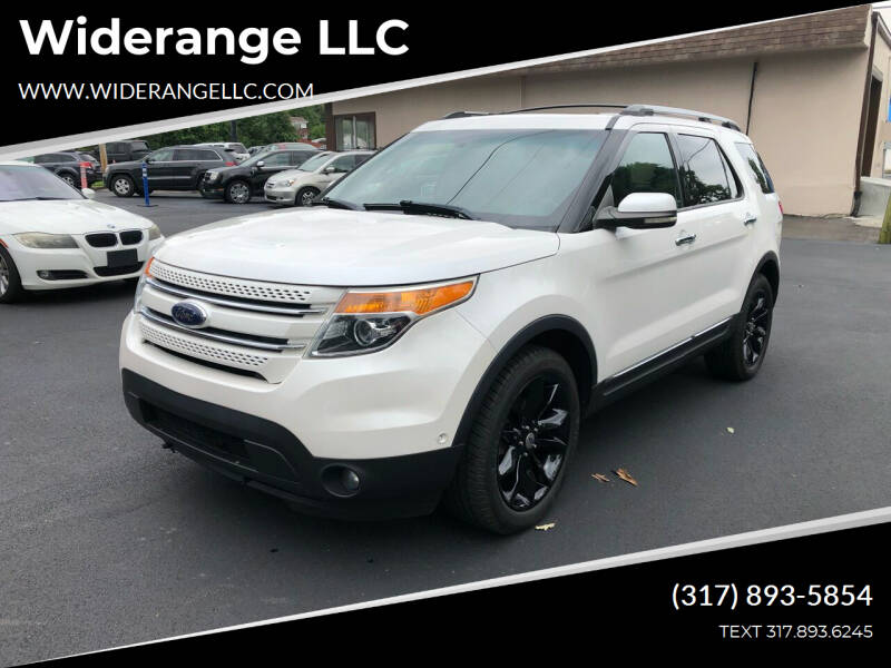 2011 Ford Explorer for sale at Widerange LLC in Greenwood IN