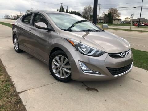 2014 Hyundai Elantra for sale at Wyss Auto in Oak Creek WI
