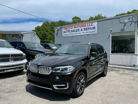 2018 BMW X5 for sale at United Motors LLC in Saint Francis WI
