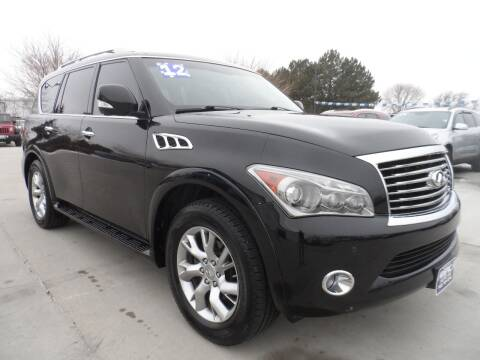 2012 Infiniti QX56 for sale at America Auto Inc in South Sioux City NE