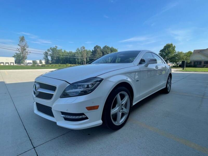 2012 Mercedes-Benz CLS for sale at CarNova - Shelby Township in Shelby Township MI