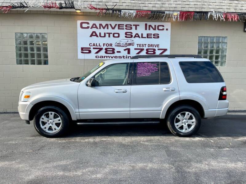 2010 Ford Explorer for sale at Camvest Inc. Auto Sales in Depew NY