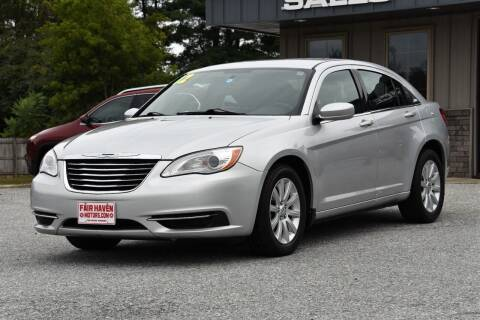 2012 Chrysler 200 for sale at Will's Fair Haven Motors in Fair Haven VT