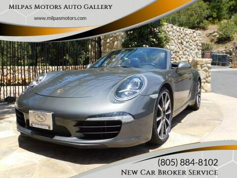 2013 Porsche 911 for sale at Milpas Motors in Santa Barbara CA