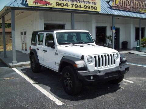 2018 Jeep Wrangler Unlimited for sale at LONGSTREET AUTO in St Augustine FL