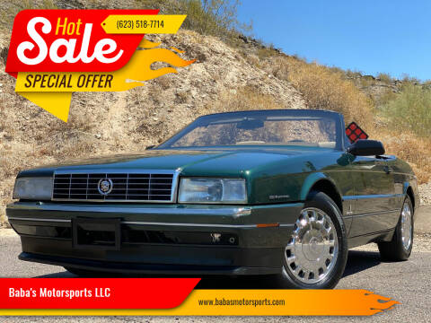 1993 Cadillac Allante for sale at Baba's Motorsports, LLC in Phoenix AZ