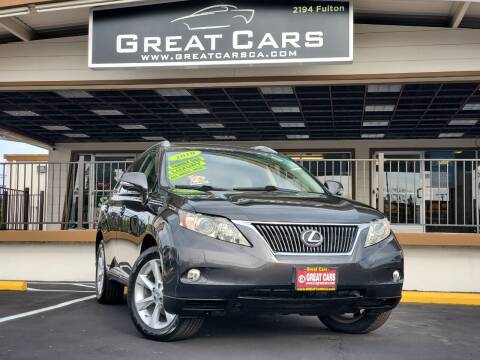 2010 Lexus RX 350 for sale at Great Cars in Sacramento CA