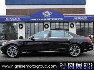 2015 Mercedes-Benz S-Class for sale at Highline Group Motorsports in Lowell MA
