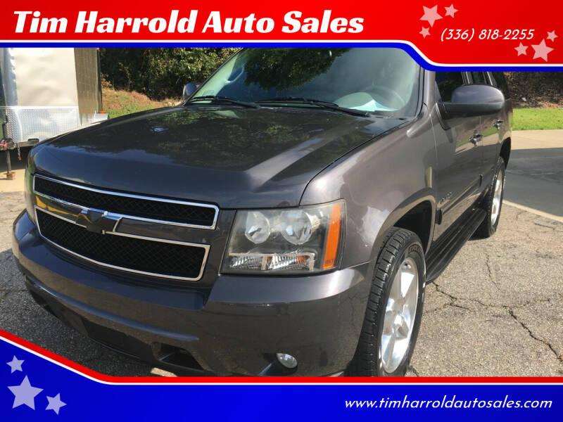 2011 Chevrolet Tahoe for sale at Tim Harrold Auto Sales in Wilkesboro NC