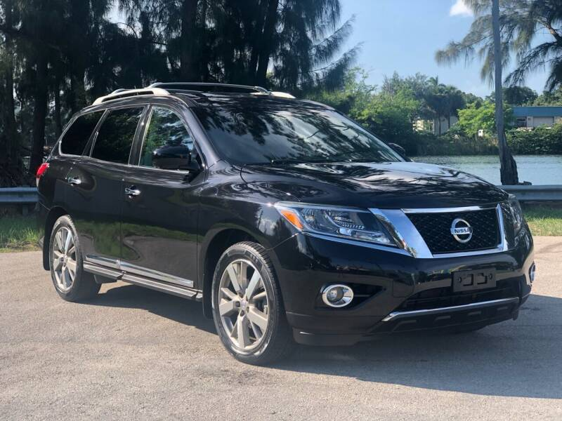 2015 Nissan Pathfinder for sale at CAR UZD in Miami FL