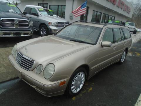 2002 Mercedes-Benz E-Class for sale at Island Auto Buyers in West Babylon NY