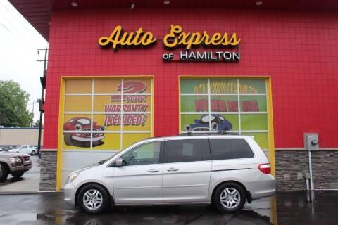 2007 Honda Odyssey for sale at AUTO EXPRESS OF HAMILTON LLC in Hamilton OH