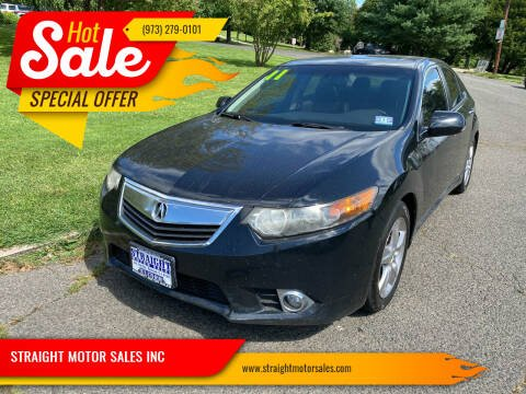 2011 Acura TSX for sale at STRAIGHT MOTOR SALES INC in Paterson NJ