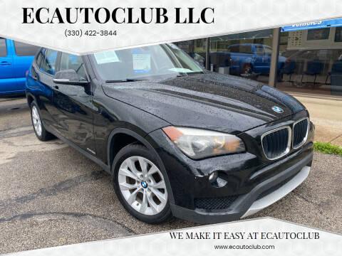 2013 BMW X1 for sale at ECAUTOCLUB LLC in Kent OH