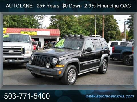 2005 Jeep Liberty for sale at Auto Lane in Portland OR