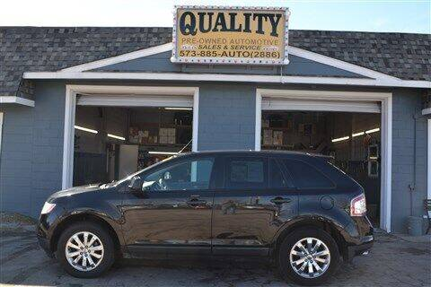 2010 Ford Edge for sale at Quality Pre-Owned Automotive in Cuba MO