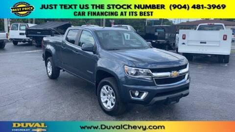 2019 Chevrolet Colorado for sale at Duval Chevrolet in Starke FL