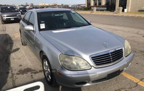 2001 Mercedes-Benz S-Class for sale at Trocci's Auto Sales in West Pittsburg PA