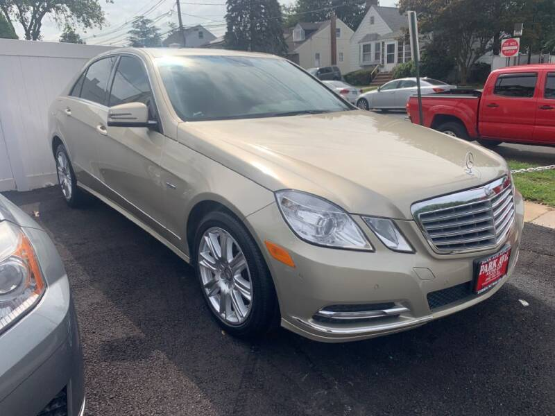 2012 Mercedes-Benz E-Class for sale at Park Avenue Auto Lot Inc in Linden NJ
