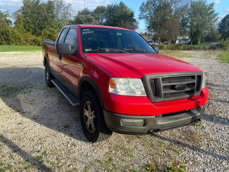 2005 Ford F-150 for sale at HEDGES USED CARS in Carleton MI