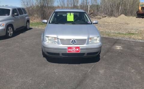 2003 Volkswagen Jetta for sale at eurO-K in Benton ME