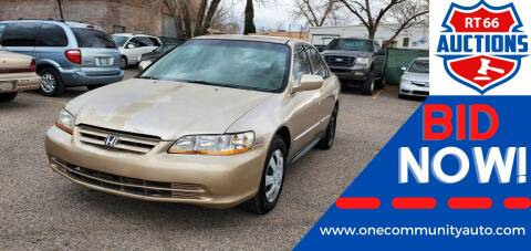 2001 Honda Accord for sale at One Community Auto LLC in Albuquerque NM