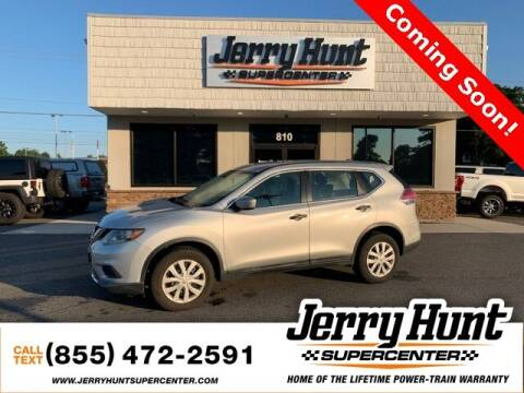 2016 Nissan Rogue for sale at Jerry Hunt Supercenter in Lexington NC