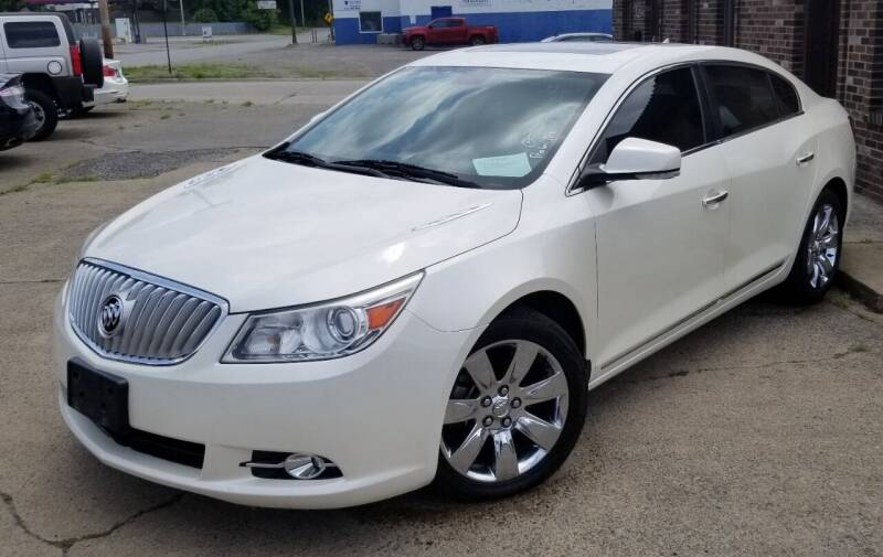 2010 Buick LaCrosse for sale at SUPERIOR MOTORSPORT INC. in New Castle PA