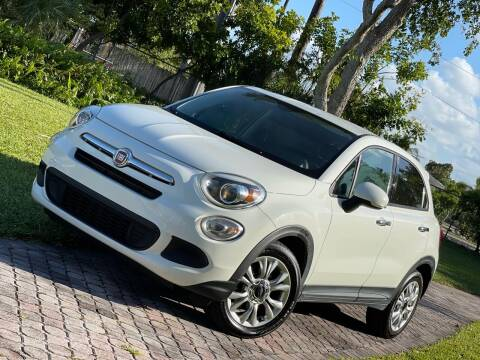 2016 FIAT 500X for sale at Citywide Auto Group LLC in Pompano Beach FL