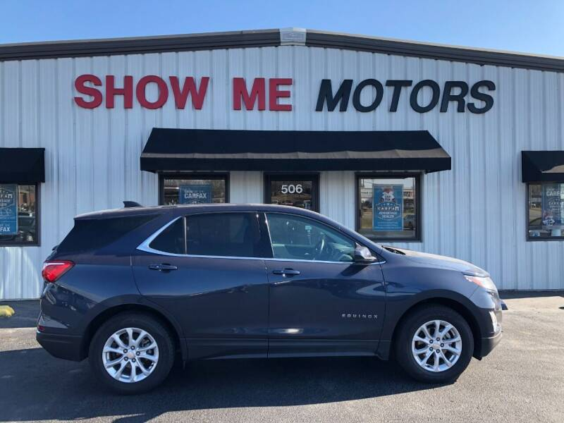 2018 Chevrolet Equinox for sale at SHOW ME MOTORS in Cape Girardeau MO
