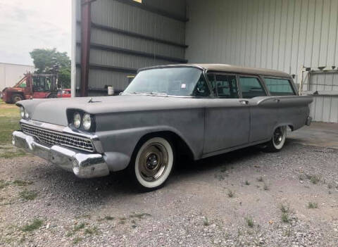 1959 Country Sedan Wagon Ford for sale at Bayou Classics and Customs in Parks LA