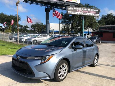 2020 Toyota Corolla for sale at Prime Auto Solutions in Orlando FL