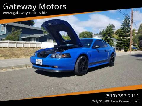 2003 Ford Mustang for sale at Gateway Motors in Hayward CA